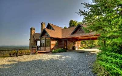 Blue Ridge Single Family Home For Sale: 389 Deer Crest Overlook