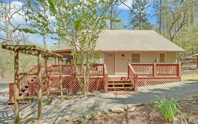 Ellijay Single Family Home For Sale: 126 Addle Way