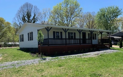 Blue Ridge Single Family Home For Sale: 515 Wash Wilson Rd.