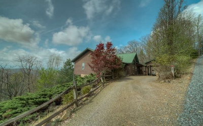 Cherokee County Single Family Home For Sale: 1665 Cherokee Mtn Tr