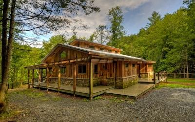 Blue Ridge Single Family Home For Sale: 600 Cadmans Hammock
