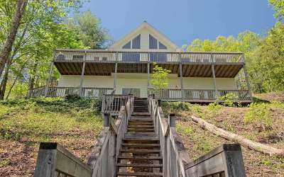 Hiawassee Single Family Home For Sale: 653 Sunnyside Shores Rd