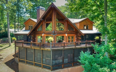 Blue Ridge Single Family Home For Sale: 602 Overlook Drive
