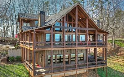 Blue Ridge Single Family Home For Sale: 1780 Sun Rock Mountain Rd