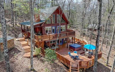 Blairsville Single Family Home For Sale: 261 Wolf Mountain Rd