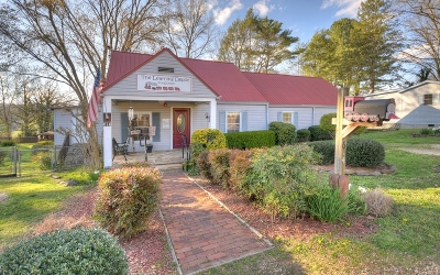 Blue Ridge Single Family Home For Sale: 614 E 2nd Street