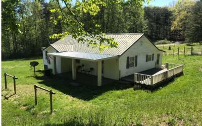Murphy NC Single Family Home For Sale: $142,000