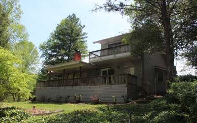 Hiawassee Single Family Home For Sale: 410 Lake Ridge Dr