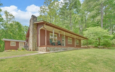 Blairsville Single Family Home For Sale: 286 McGlamery Trail