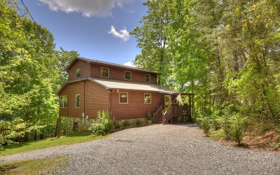 Blue Ridge Single Family Home For Sale: 208 Wolf Trace