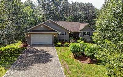 Murphy Single Family Home For Sale: 70 Peachtree Hills Road