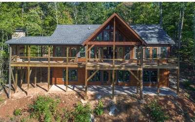 Blue Ridge Single Family Home For Sale: Lot 401 Mountain Tops