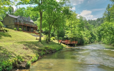 Ellijay Single Family Home For Sale: 420 Spring Valley Lane