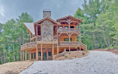Blue Ridge Single Family Home For Sale: 344 Blue Sky Overlook