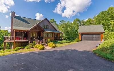 Blue Ridge Single Family Home For Sale: 240 Twin Lakes