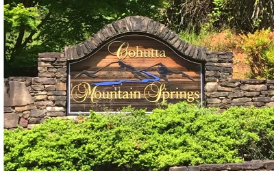 Ellijay Residential Lots & Land For Sale: Lot 3 Cohutta Mtn Springs