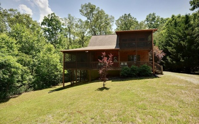 Blue Ridge Single Family Home For Sale: 212 Pine Forest Loop