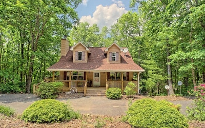 Blairsville Single Family Home For Sale: 71 Cedar Mtn Trail