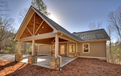 Ellijay Single Family Home For Sale: 550 Pocaset Drive