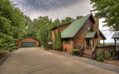 Blue Ridge Single Family Home For Sale: 296 Overlook Road