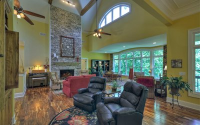 Ellijay Single Family Home For Sale: 180 Emerald Springs Lane