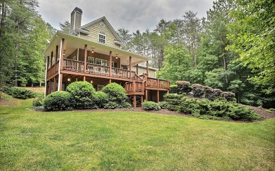 Blairsville Single Family Home For Sale: 271 Creek Hollow Lane
