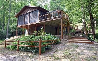 Blairsville Single Family Home For Sale: 366 Reece Creek Road E