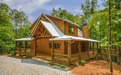 Ellijay Single Family Home For Sale: 179 Huckleberry Ln