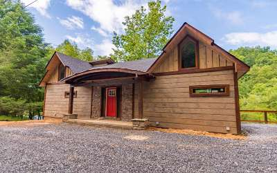 Mineral Bluff Single Family Home For Sale: Lt 74 Toccoa River