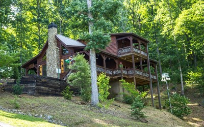 Blue Ridge Single Family Home For Sale: 126 High Point Trail
