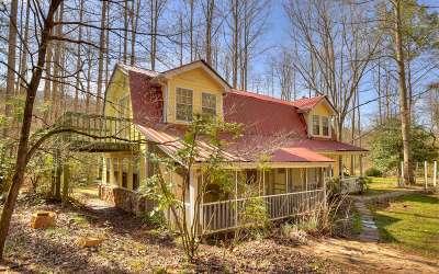 Blue Ridge Single Family Home For Sale: 325 Rainbow Hill