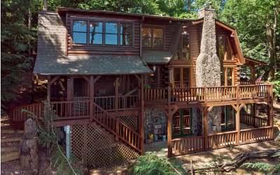 Ellijay Single Family Home For Sale: 1317 Mountain Oak Rd.