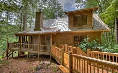 Gilmer County Single Family Home For Sale: 69 Indian Cave Road