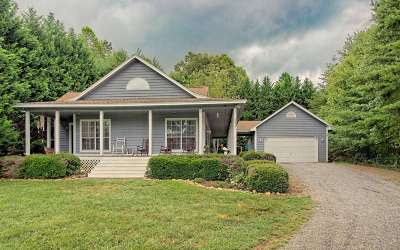 Hiawassee Single Family Home For Sale: 2417 Fodder Creek Road