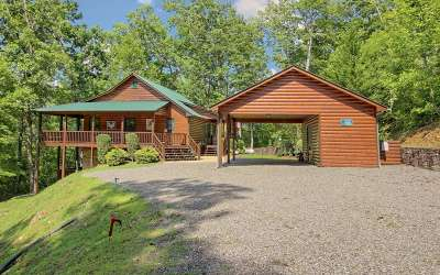 Hiawassee Single Family Home For Sale: 1707 Sheep Cliff Rd