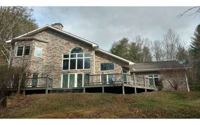 Cherokee County Single Family Home For Sale: 5981 Candy Mtn. Road