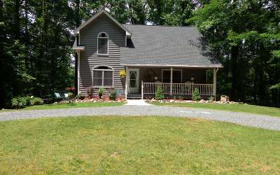 Ellijay Single Family Home For Sale: 90 Mountain View Ct