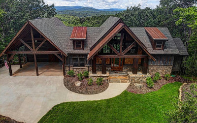 Blue Ridge Single Family Home For Sale: 50 Dragonfly Drive