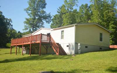 Blairsville Single Family Home For Sale: 61 Triple R Garage