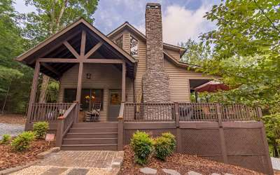 Ellijay Single Family Home For Sale: 98 Stegall Mill Trail