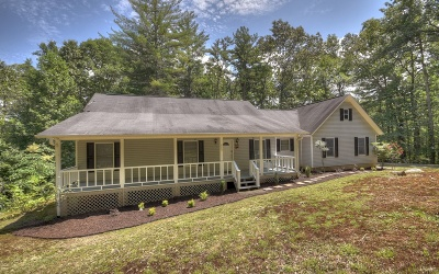 Blue Ridge Single Family Home For Sale: 665 Harrison & Ada Road