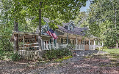 Blairsville Single Family Home For Sale: 676 Lake Cove Lodge Road