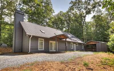 Ellijay Single Family Home For Sale: 222 Bear Run