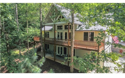 Ellijay Single Family Home For Sale: 146 Neaptide Drive