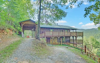 Blue Ridge Single Family Home For Sale: 529 Stover Knob Trail