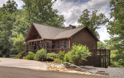 Ellijay Single Family Home For Sale: 321 Trails End Summit
