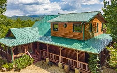 Blue Ridge Single Family Home For Sale: 23 Tee Pee Trail