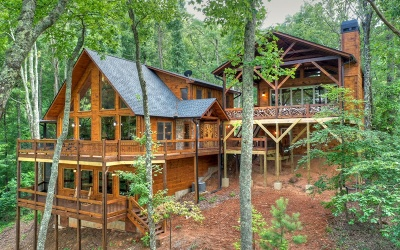 Blue Ridge Single Family Home For Sale: 8 Rocky Face Road