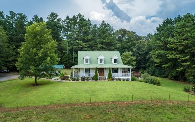 Pickens County Single Family Home For Sale: 1582 Big Ridge Rd