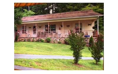 Hiawassee Single Family Home For Sale: 2632 Free Branch Rd.